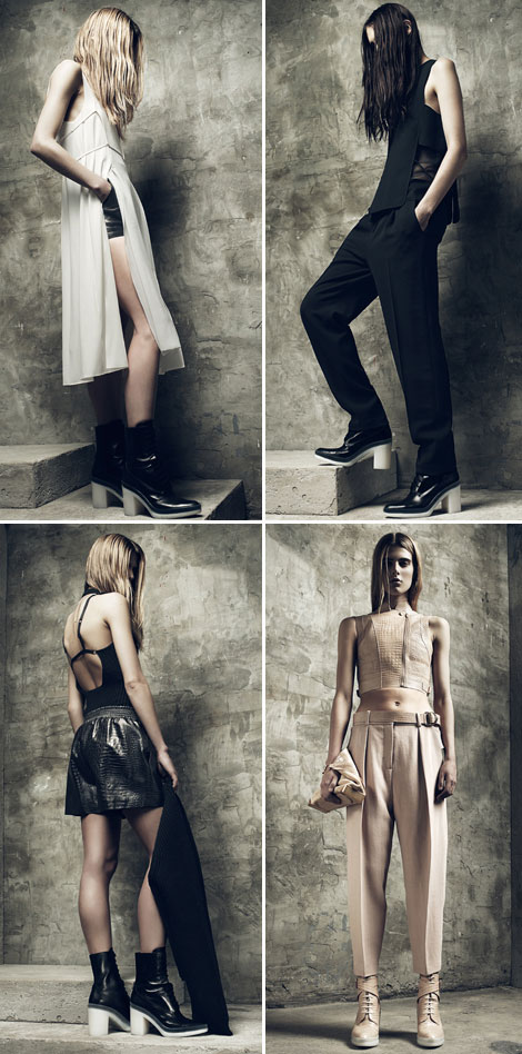 Alexander Wang Resort 2013 Collection: Dungeon Delicacy