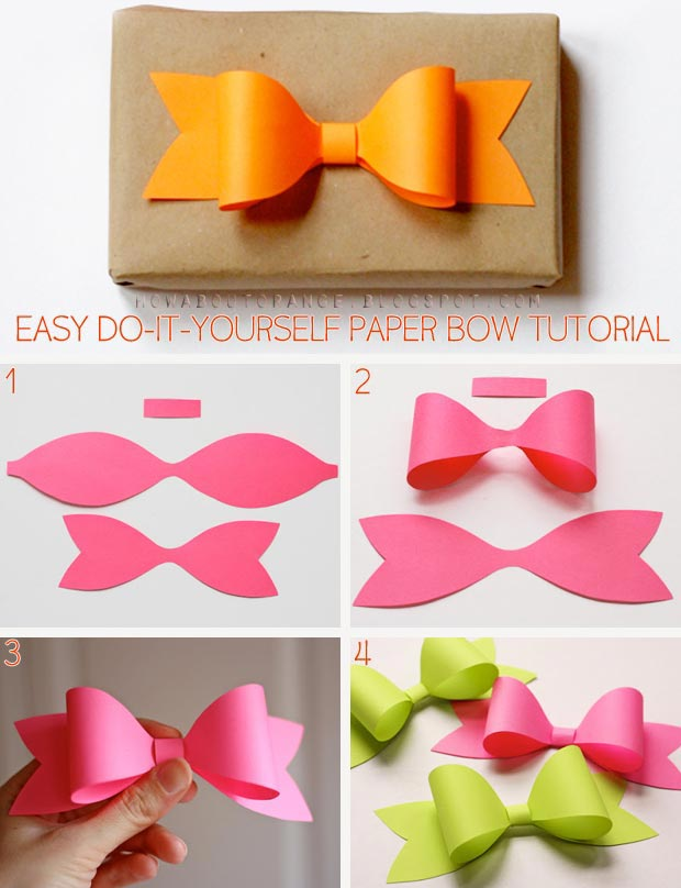 Easy Quick DIY Bow Tutorial (Images)