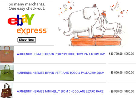 Hermès Against eBay