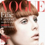 Edie Campbell portrait Vogue UK April 2013 cover