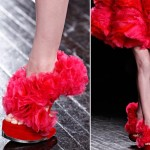 Effie Trinket s red shoes McQueen