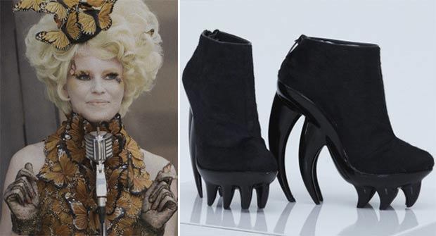 Effie Trinket shoes Iris van Herpen