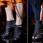 elastic strapped booties Gucci Spring 2014