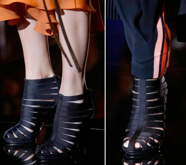 Gucci Spring Summer 2014 Shoes And Bags. Straps And Fringes