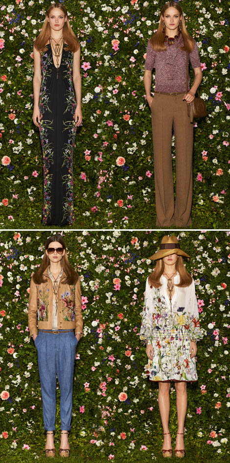 elegant Hippie Gucci Resort 2013 collection
