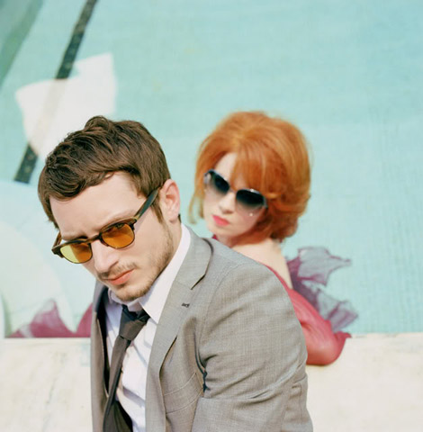 Elijah Wood Shirley Manson Oliver Peoples 2010