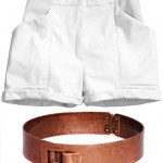 Elin Kling H M collection shorts cuff