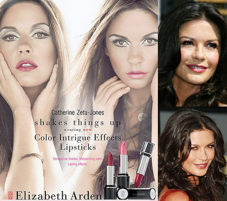 Elizabeth Arden Color Intrigue Shakes Off The Catherine Zeta-Jones From Catherine Zeta-Jones