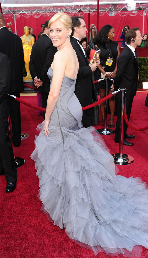 Elizabeth Banks Atelier Versace dress 2010 oscars 1
