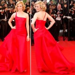 Elizabeth Banks red Armani Cannes 2009 opening