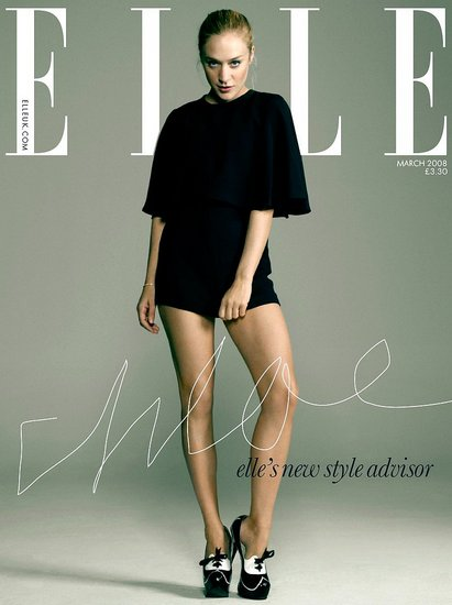 Chloe Sevigny for Elle Magazine March Issue