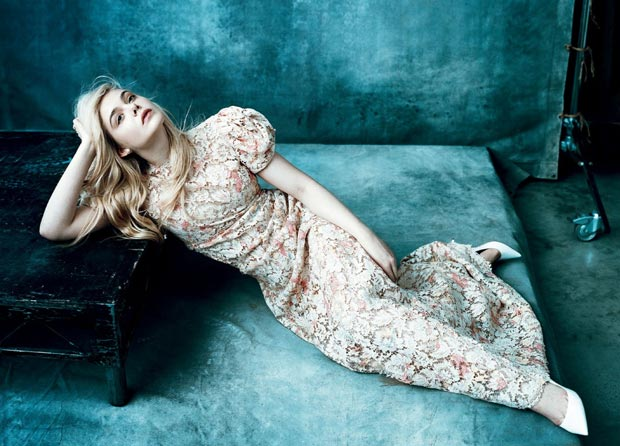 Elle Fanning Vogue US March 2013