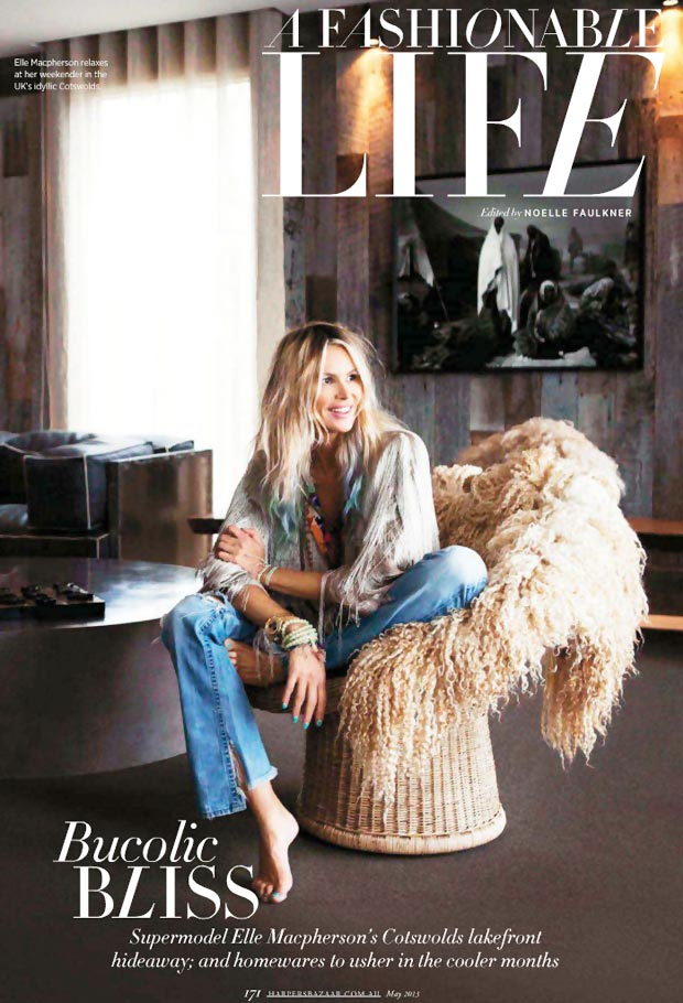 Elle MacPherson's Home In Cotswolds