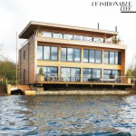 Elle MacPherson lakefront home in Cotswolds