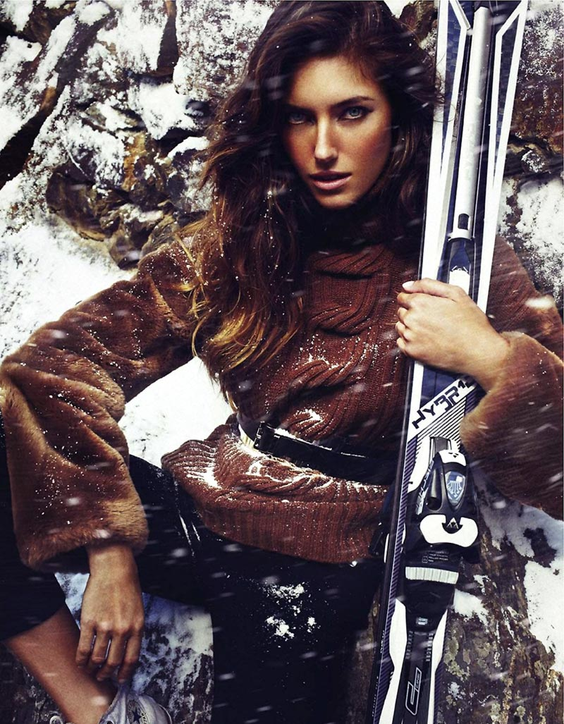 Elle Spain January 2014 winter pictorial