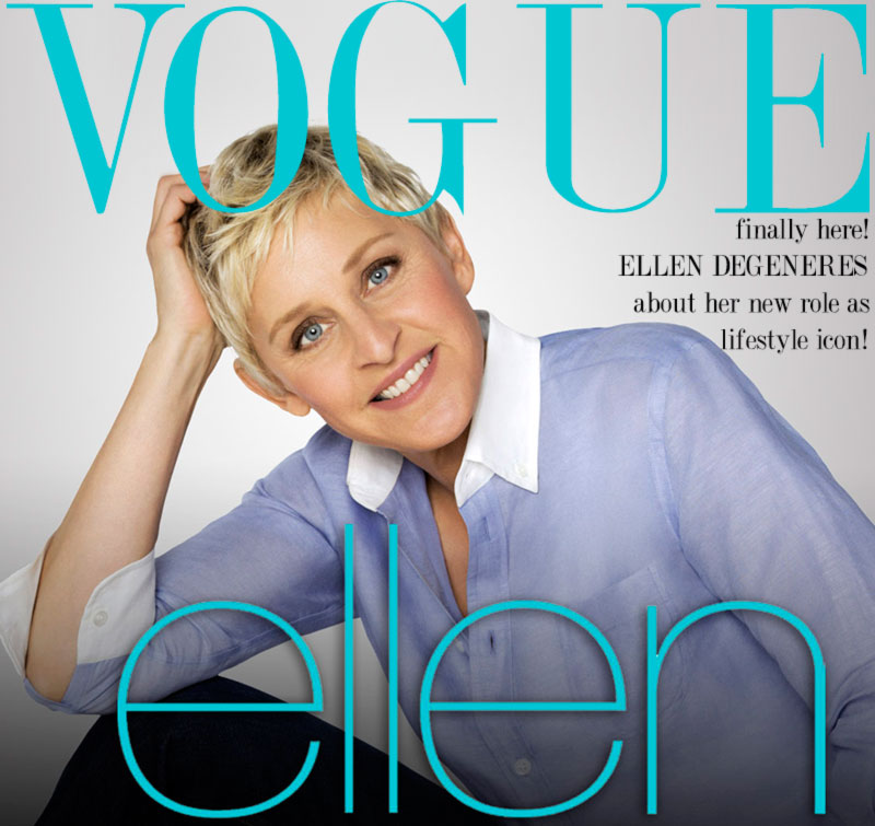 Ellen possible Vogue cover
