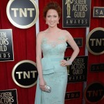 Ellie Kemper light mint dress 2012 SAG Awards