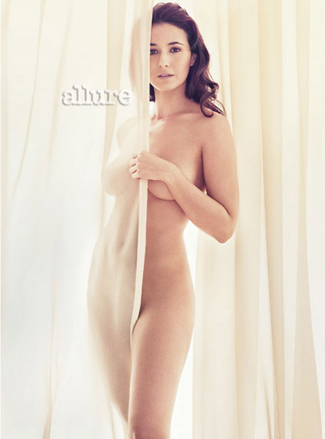 Emmanuelle Chriqui Allure May 2010 Bare It All