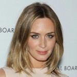 Emily Blunt hair makeup NBR Awards Gala 2013