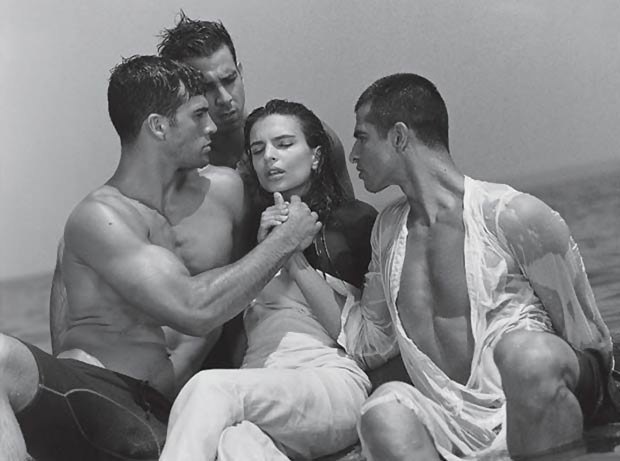 Emily Ratajkowski photographed by Bruce Weber CR Fashion Book