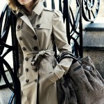 Emma Watson Burberry Fall winter 09 ad campaign