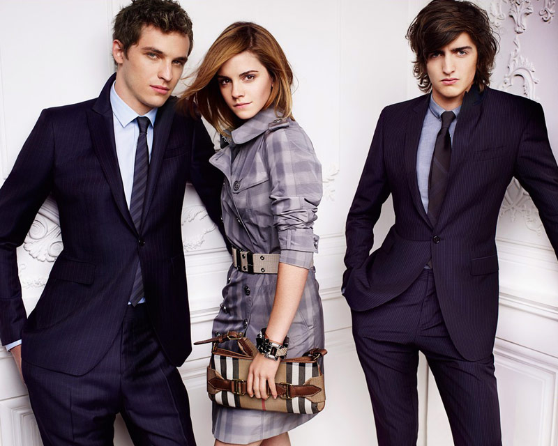 Emma Watson Burberry Spring Summer 2010 ad campaign 10