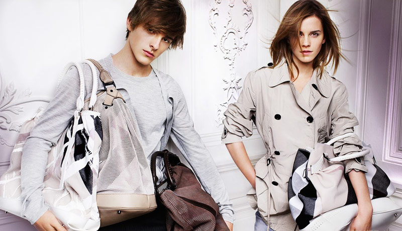 Emma Watson Burberry Spring Summer 2010 ad campaign 11
