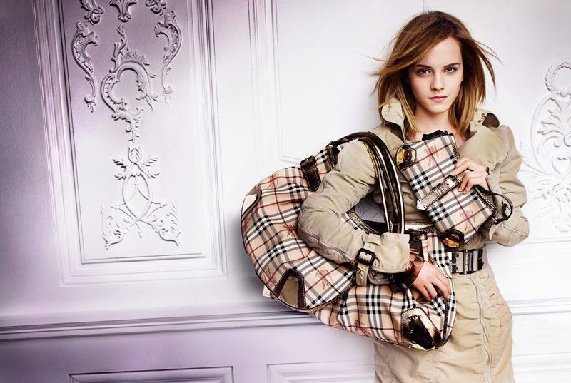 Emma Watson Burberry Spring Summer 2010 ad campaign 2