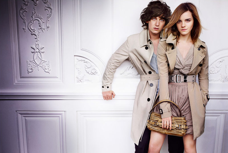 Emma Watson Burberry Spring Summer 2010 ad campaign 4
