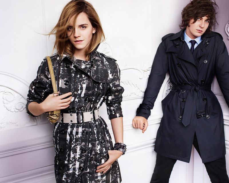 Emma Watson Burberry Spring Summer 2010 ad campaign 5