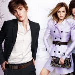 Emma Watson Burberry Spring Summer 2010 ad campaign 7