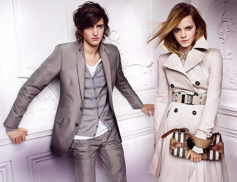 Emma Watson Burberry Spring Summer 2010 ad campaign 9