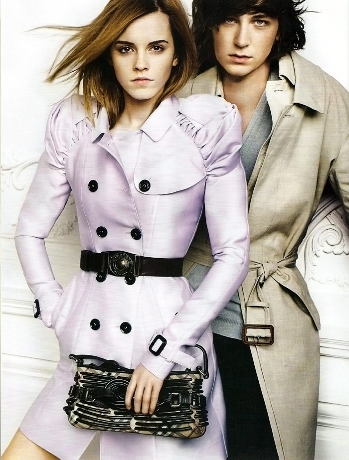 Emma Watson Burberry Spring Summer 2010 Ad Campaign large