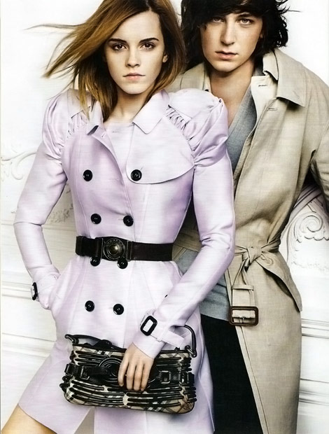 Emma Watson Burberry Spring Summer 2010 Ad Campaign