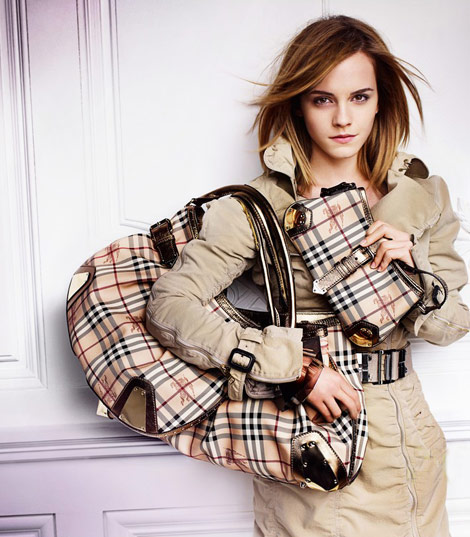 Emma Watson Burberry SS 2010 ad campaign