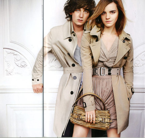 Emma Watson Burberry Summer 2010 Ad Campaign