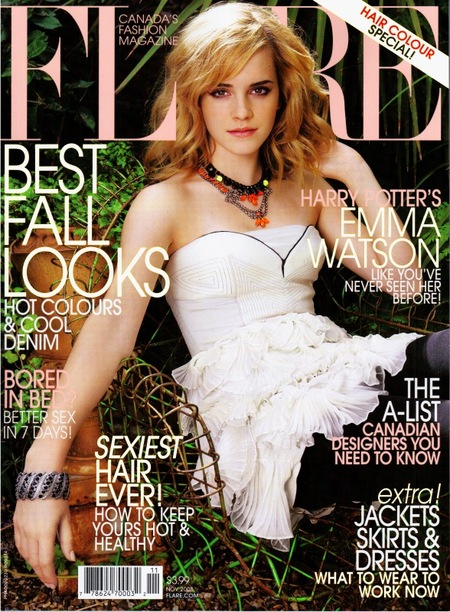Emma Watson Cover Flare Magazine November 2008