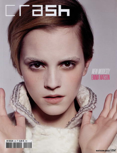 Emma Watson Crash Magazine cover