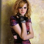 Emma Watson Feature In Flare Magazine November 2008 1