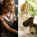 Emma Watson Feature In Flare Magazine November 2008 3