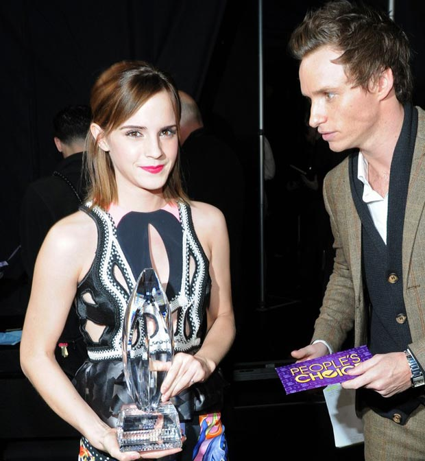 Emma Watson hair makeup People s Choice Awards 2013