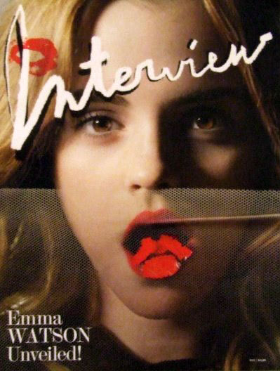 Emma Watson Interview May 2009 cover