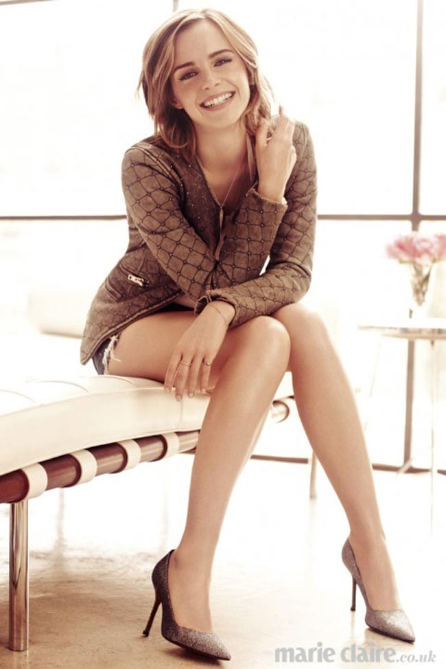 Emma Watson lovely new photo for Marie Claire UK