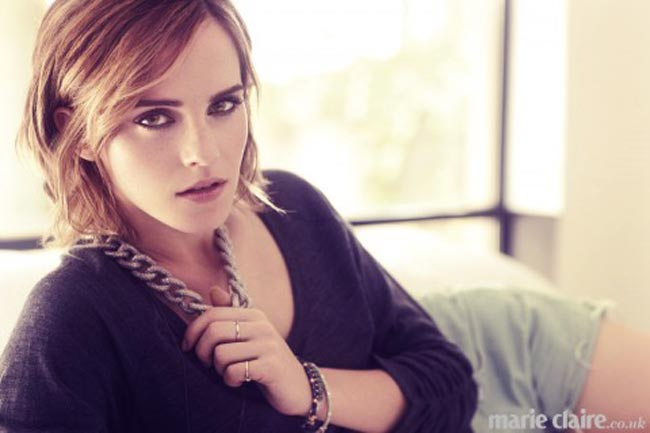 Emma Watson Marie Claire UK pictorial