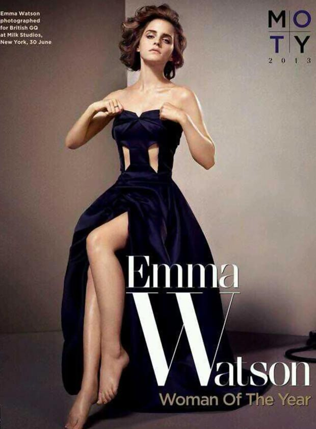 Emma Watson pictorial GQ October 2013