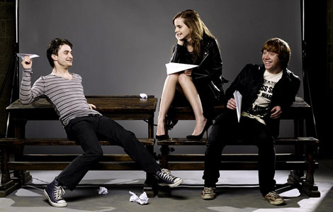 Emma Watson Rupert Grint Daniel Radcliffe