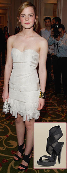 Emma Watson at the Sony Ericsson Empire Film Awards