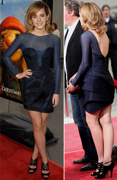 Emma Watson's Dress For The Tale Of Despereaux LA Premiere