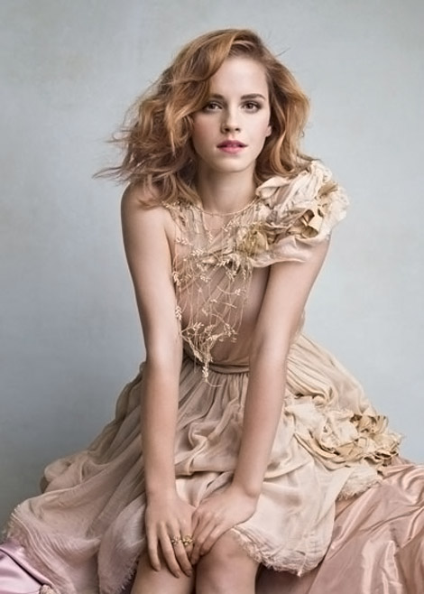 Emma Watson By Patrick Demarchelier For Vanity Fair