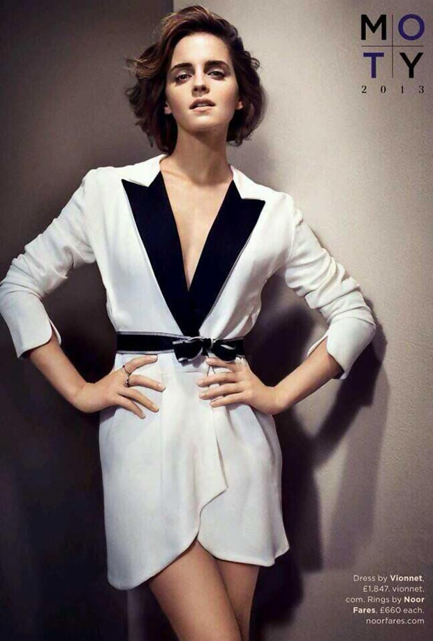 Emma Watson Vionnet dress GQ October 2013